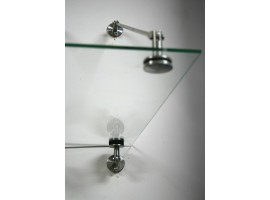 Mocowanie daszka szklanego, rotule 50mm, 1 naciąg